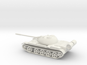 T 55 in White Natural Versatile Plastic