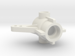 Tamiya TL01-B FF01 front hub in White Natural Versatile Plastic