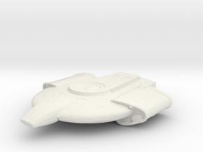 Defiant Class in White Natural Versatile Plastic