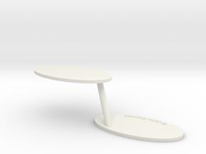 Wheel Walker in White Natural Versatile Plastic