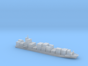 1/1800 scale 2000 TEU Container ship in Smooth Fine Detail Plastic