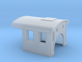 Steel cab for MDC / Athearn 2-6-0 N gauge in Smooth Fine Detail Plastic