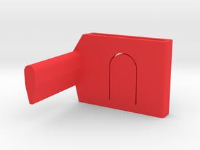 Switch Lock in Red Processed Versatile Plastic