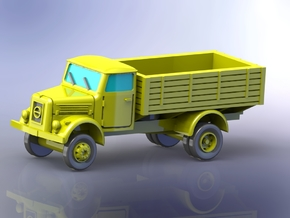 German KHD A3000 Truck (Flatbed) 1/120 in Smooth Fine Detail Plastic