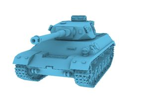 1/160 Panzer 3-4 in Smooth Fine Detail Plastic
