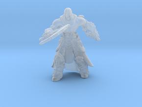Darksiders Death miniature DnD fantasy games rpg in Smooth Fine Detail Plastic
