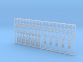 Diverse E-Teile #1 in 1:35 in Smooth Fine Detail Plastic