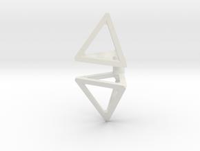 Concrete Tank Trap (x2) 1/56 in White Natural Versatile Plastic