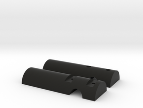 Light Mount for Jones Truss fork in Black Natural Versatile Plastic