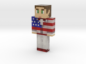 James | Minecraft toy in Natural Full Color Sandstone
