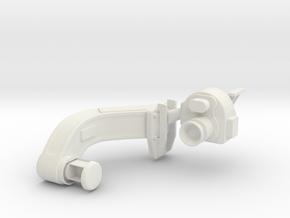 1/5 DKM 3.7cm Flak M42 Single Mount (Sight R) in White Natural Versatile Plastic