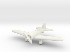 Lockheed Altair (With Landing Gear) 1/285 in White Natural Versatile Plastic