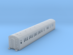 o-148fs-gwr-d95-lh-brake-3rd-coach in Smooth Fine Detail Plastic