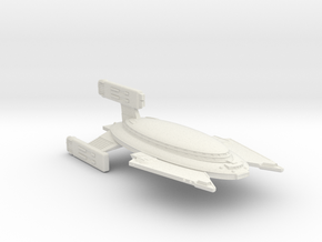 3125 Scale Vudar Heavy Battlecruiser (BCH) MGL in White Natural Versatile Plastic