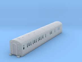 o-148fs-gwr-d94-lh-brake-3rd-coach in Smooth Fine Detail Plastic