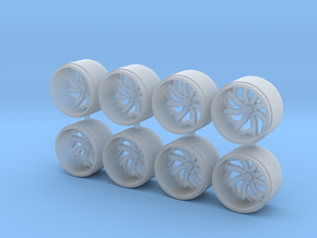 164 scale truck wheels in Smoothest Fine Detail Plastic