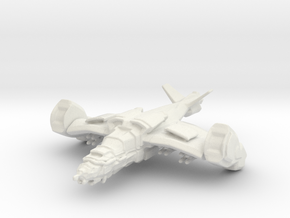 Gremlin Gunship, 15mm in White Natural Versatile Plastic