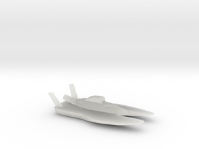 Hydroplane in Smooth Fine Detail Plastic