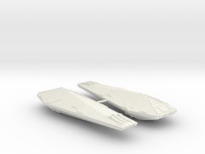 3125 Scale Hydran Lancer Destroyers (2) CVN in White Natural Versatile Plastic
