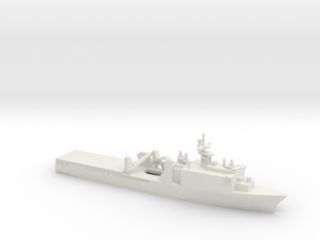 Whidbey Island-class LSD, 1/1800 in White Natural Versatile Plastic