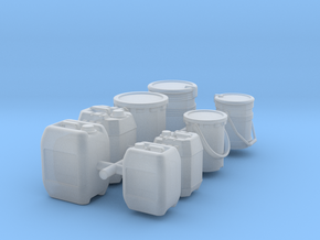 10 + 20 ltr jerrycan - 1:50 in Smooth Fine Detail Plastic