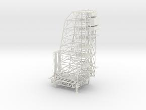 1/400 Scale Apollo Arming Tower in White Natural Versatile Plastic