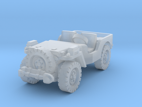 Airborne Jeep (recon) 1/144 in Smooth Fine Detail Plastic