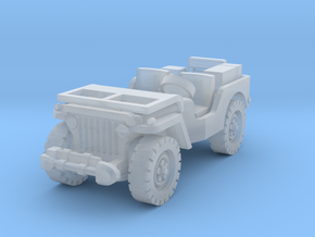 Jeep airborne (radio) 1/220 in Smooth Fine Detail Plastic