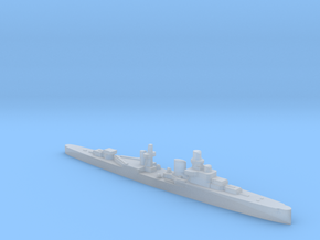 Luigi Cadorna light cruiser 1:4800 WW2 in Smooth Fine Detail Plastic