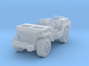 Jeep airborne (radio) 1/285 in Smooth Fine Detail Plastic