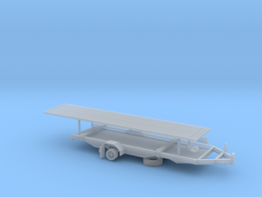 1/87th Drill Rig Rod Trailer in Smooth Fine Detail Plastic