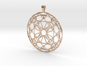 J'adornament in 14k Rose Gold Plated Brass