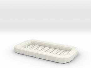 1/20 USN Carly Float - Square in White Natural Versatile Plastic