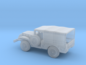 1/144 Scale Dodge WC-51 with Cover in Smooth Fine Detail Plastic