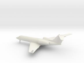 Gulfstream G-IV (G400) in White Natural Versatile Plastic: 1:285 - 6mm