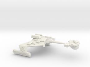 3788 Scale Klingon D6P Gunboat/PF Tender WEM in White Natural Versatile Plastic