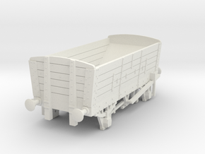 a-64-ner-p4-5pl-coal-hopper-wagon in White Natural Versatile Plastic