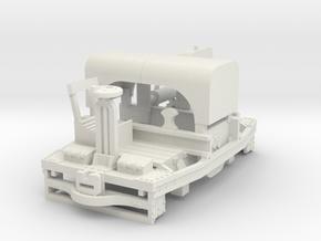 A-1-43-20hp-simplex-1a in White Natural Versatile Plastic