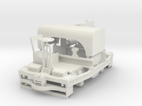 A-1-24-20hp-simplex-1a in White Natural Versatile Plastic