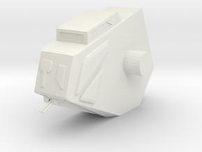 1/72 Augurs Cockpit Section (part # 5 for kit) in White Natural Versatile Plastic