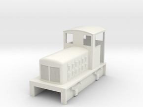 009 Fowler diesel loco  in White Strong & Flexible