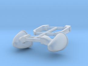 Spiegel + Türgriffe Trabant Sport in Smoothest Fine Detail Plastic