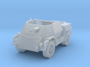 Pattern Wheeled Carrier Mk2 1/200 in Smooth Fine Detail Plastic