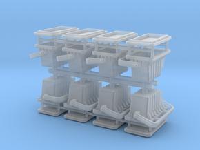 XF range floodlights - 1:50 - 8X in Smooth Fine Detail Plastic