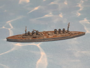 French Amored Cruiser MN Edgar Quinet 1/2400 in Smooth Fine Detail Plastic