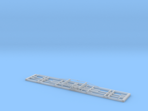 W&LLR Pickering Carriage Underframe in Smoothest Fine Detail Plastic