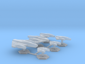 7000 Scale ISC Fleet Core Collection SRZ in Smooth Fine Detail Plastic