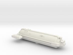 Omni Scale General Small Q-Ship (Deployed) SRZ in White Natural Versatile Plastic