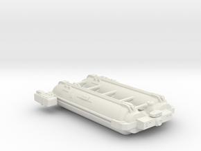 Omni Scale General Large Q-Ship (Deployed) SRZ in White Natural Versatile Plastic