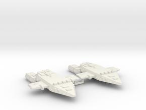 3788 Scale Orion Light Cruisers (2) CVN in White Natural Versatile Plastic